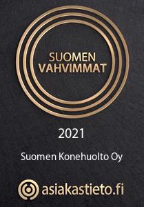 Suomen vahvimmat 2021 logo